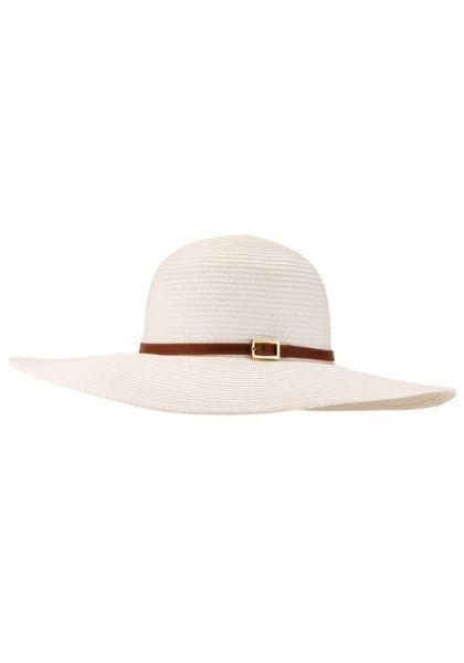Melissa Odabash Jemima Hat White