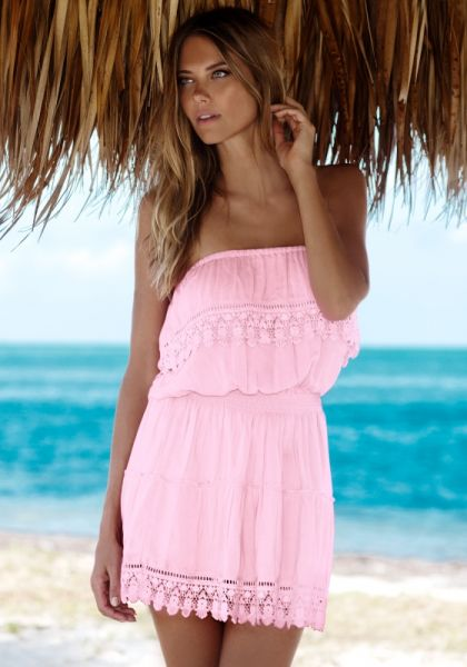 Melissa Odabash Joy Dress Blush