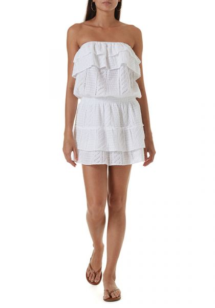 Melissa Odabash Mia Dress White