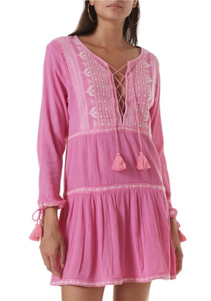 Melissa Odabash Millie Dress Rose