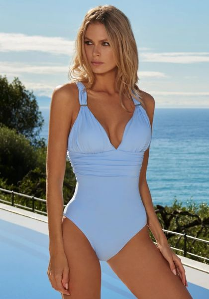 Panarea Swimsuit Cornflower