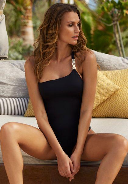 Melissa Odabash Seychelles Swimsuit Black