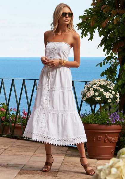 Melissa Odabash Avalon Dress White