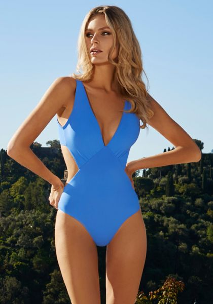 Melissa Odabash Del Mar Swimsuit Royal Blue