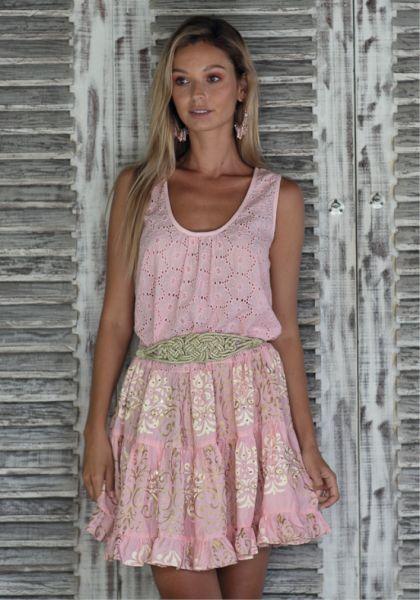 Miss June Babydoll dress Pink