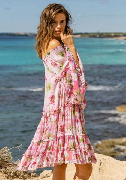Miss June Fleur Dress Pink
