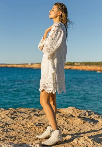 Valley Dress White