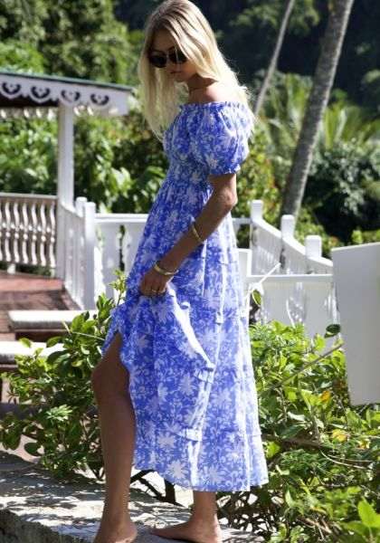 Rah Rah Maxi Dress Cornflower
