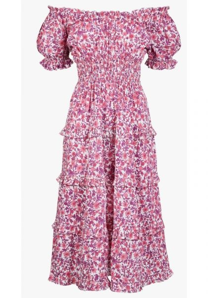 Pink City Prints RAh Rah Dress Lavender Lolita
