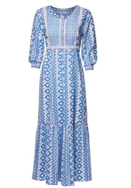 Pink City Prints Nomad Dress Riviera