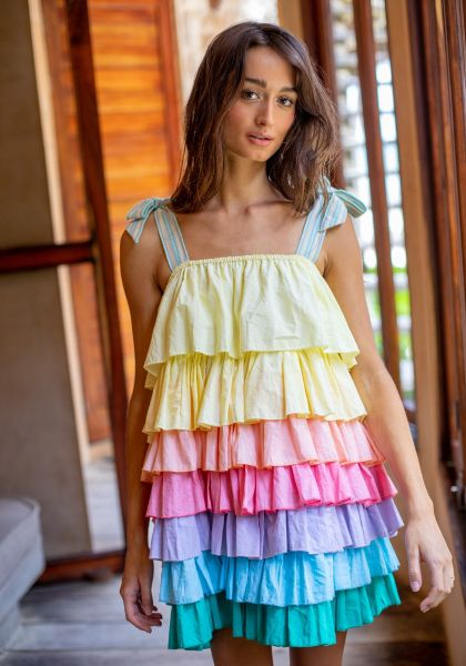 Pitusa Pinata Dress Pastel