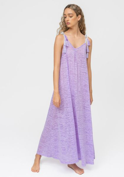 Pitusa Tassle Tie Dress Lavender