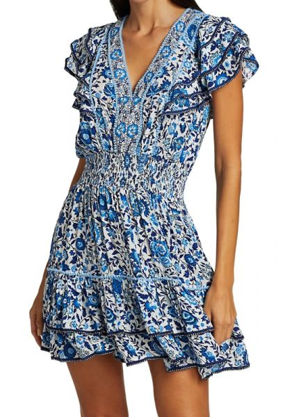 Poupette Camilla Dress Blue Celery