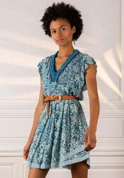 Sasha Dress Blue Daffodil