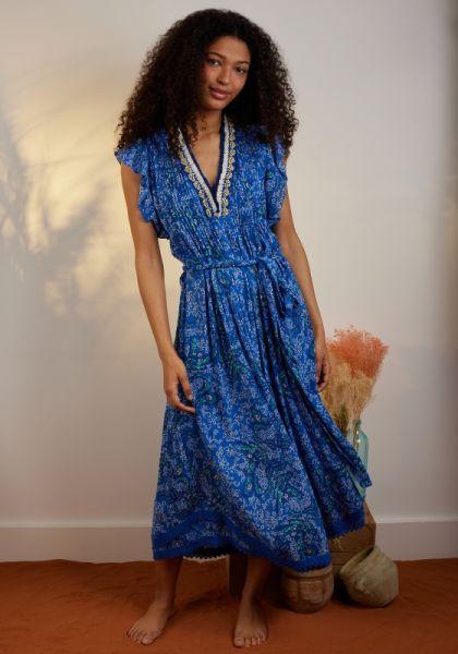 Sasha Dress Blue Parrot