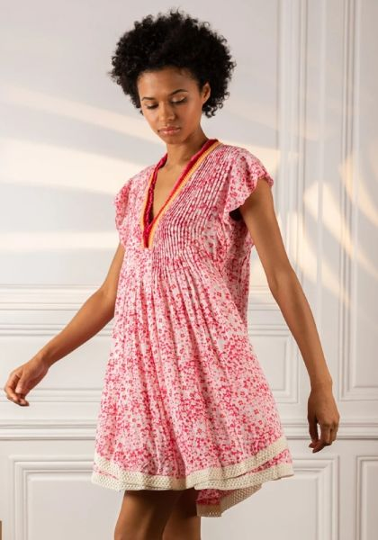 Sasha Dress Pink Hortensia