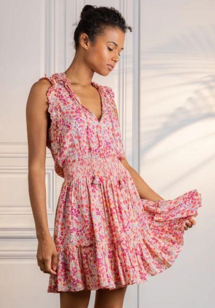 Trini Mini Dress Purple Daffodil