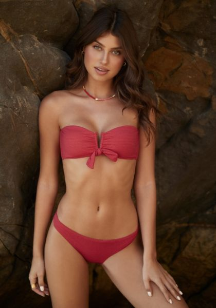 PQ Swim Crimson Ashley Bow Bikini