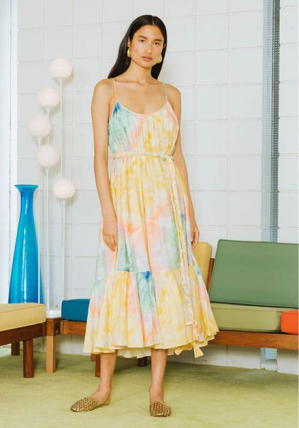 Lea Dress Tie Dye