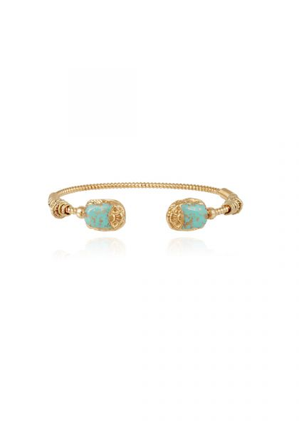 Scarmouche Duality Bracelet Turquoise