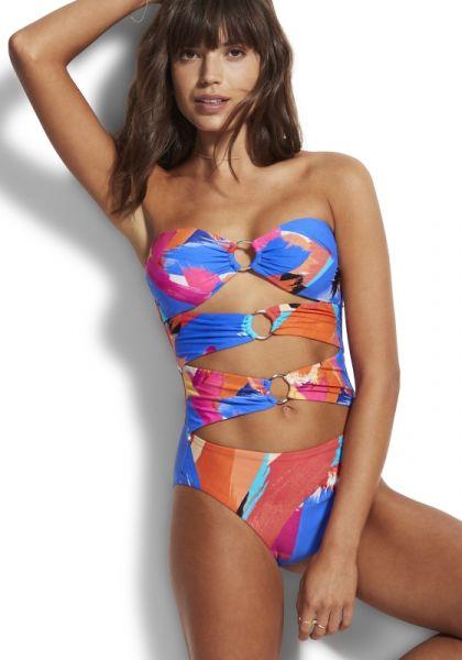 Arthouse Bandeau Swimsuit