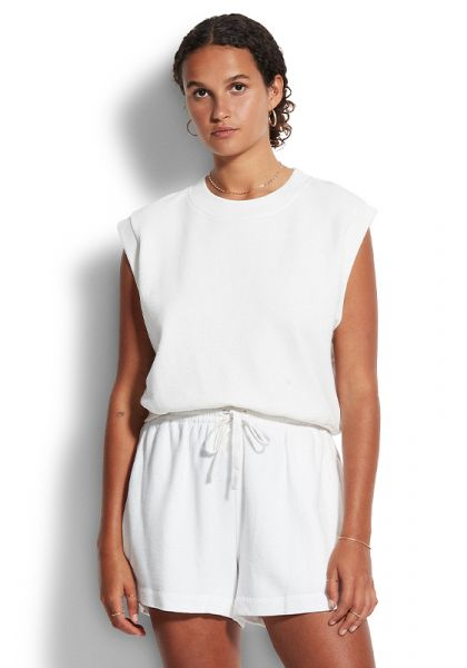 White Cotton Short