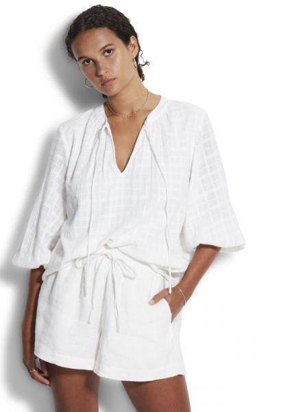 Double Cloth Shorts White