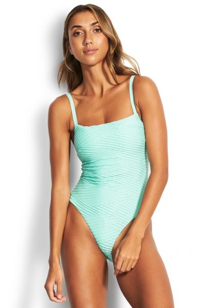 Seafolly Fresh Water Swimsuit Mint