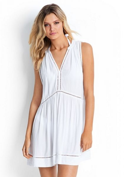 Seafolly White Ladder Dress