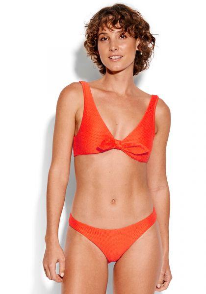 Seafolly La Luna Tie Front Crop Bikini