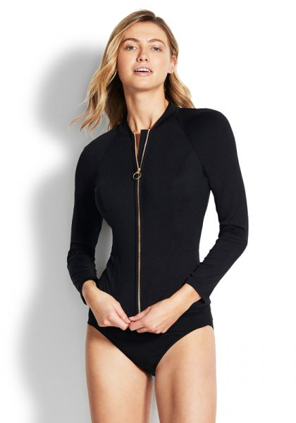 Seafolly Long Sleeve Sunvest