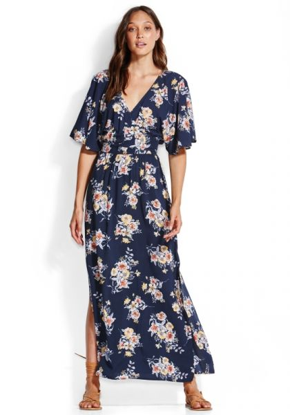Seafolly Midsummer Maxi Dress Indigo