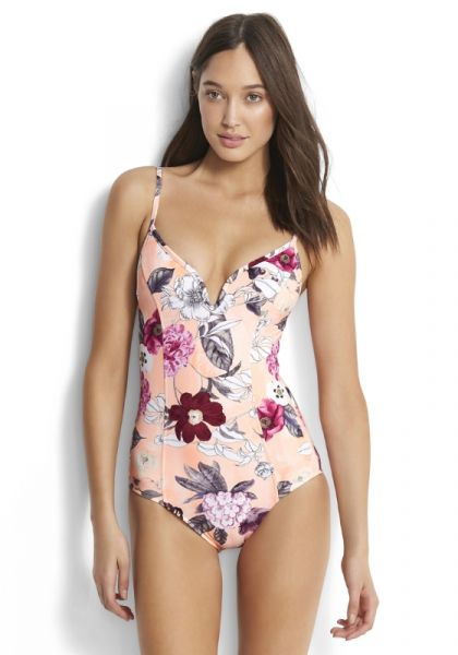 Seafolly Modern Love V Swimsuit