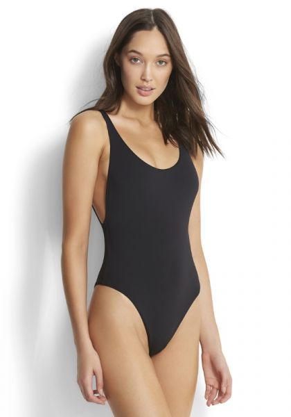 Seafolly Retro Tank Swimsuit