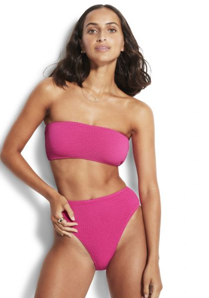 Seafolly Sea Dive Tube Bikini Fuschia