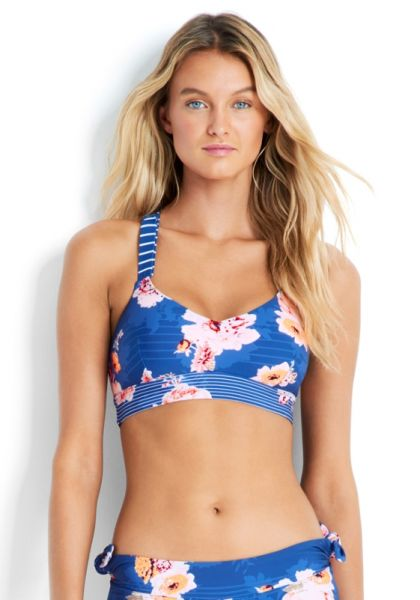 Seafolly Vintage Wildflower Active Bralette