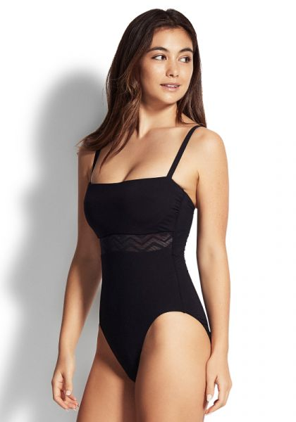 Seafolly Zig Zag DD Swimsuit