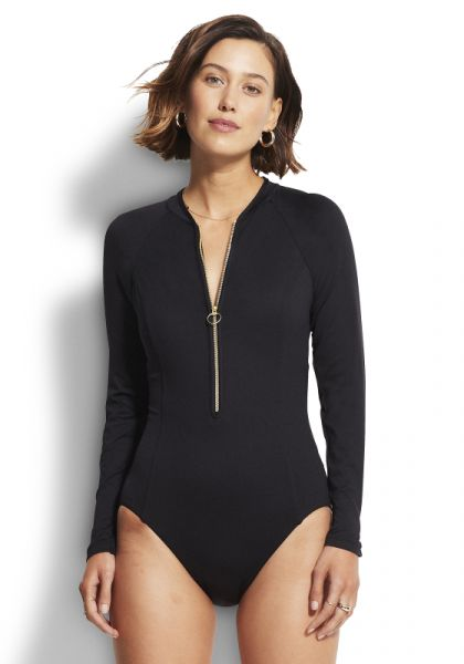 Seafolly Zip Front Surfsuit