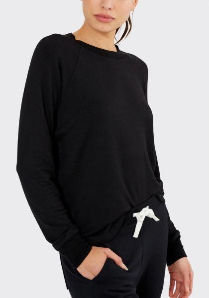 Warm Up Fleece Sweatshirt Black