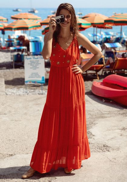 Sundress Claire Dress Orange