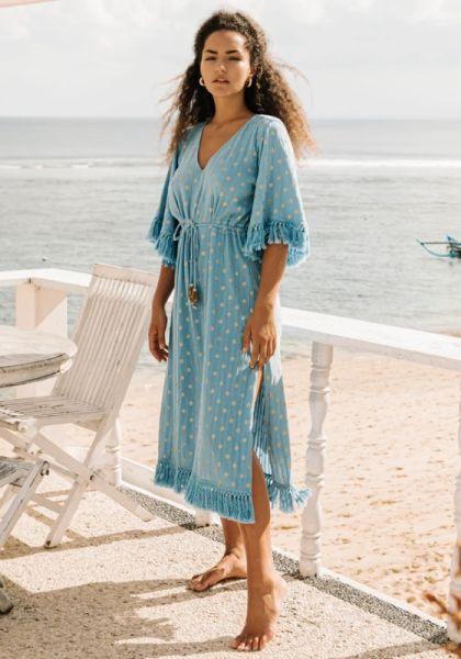 Janna Dress Dubai Blue