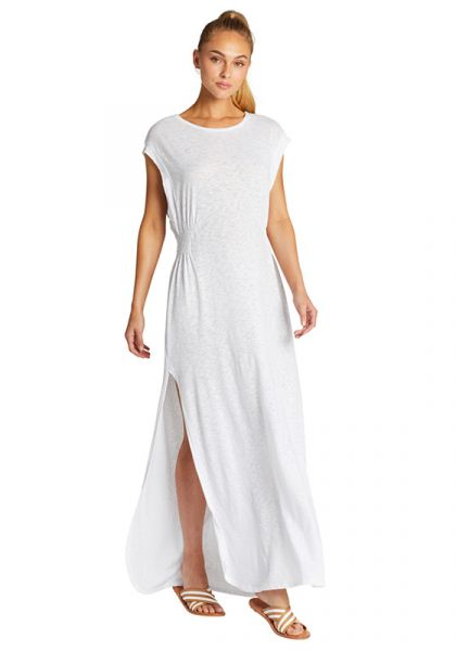 Vitamin A Florence Dress White