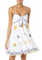 7cccf979c485a Juliet Dunn | Bow Tie Mini Dress | Beach Cafe UK