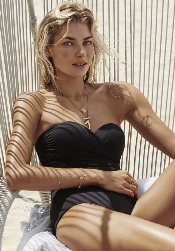 Seafolly Wrap Front Bandeau Swimsuit
