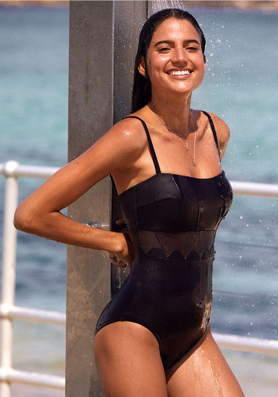 Seafolly Petal Edge DD Swimsuit