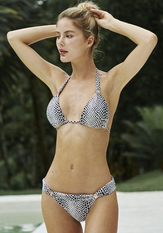 Seafolly Peacock Goddess Bandeau Bikini