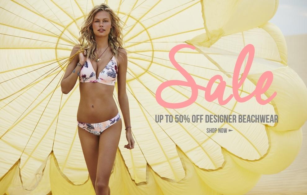 Up To 50% OFF Designer Beachwear