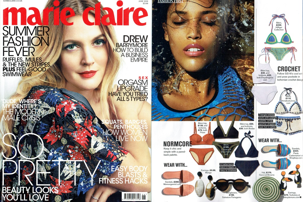 marie claire lspace beachcafe