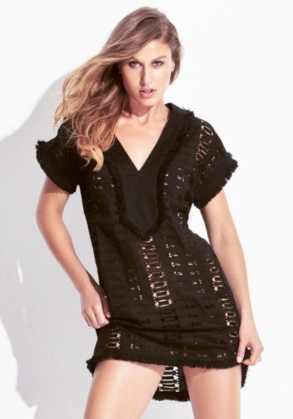 Biondi Ayara Belted Tunic Dress