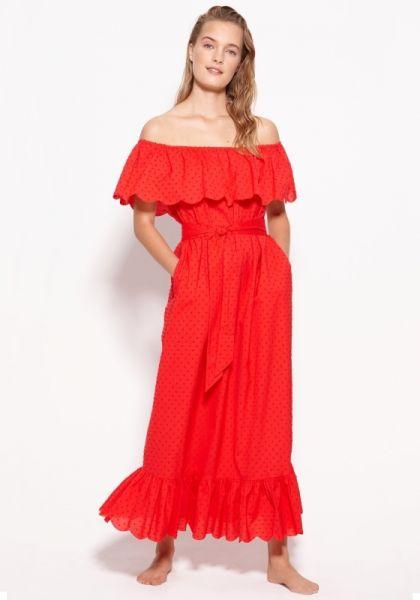 Marysia Victoria Dress Red